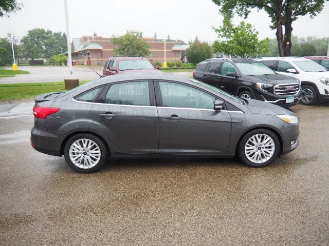 Used 2017 Ford Focus Titanium with VIN 1FADP3J29HL277227 for sale in Apple Valley, Minnesota