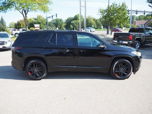 Used 2021 Chevrolet Traverse Premier with VIN 1GNEVKKW0MJ136155 for sale in Apple Valley, Minnesota